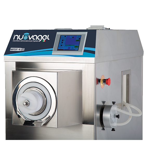 Continuous Ice Cream Machine | Mantecatore | Rely Services